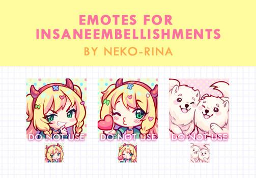 Emotes for Insaneembellishments 2