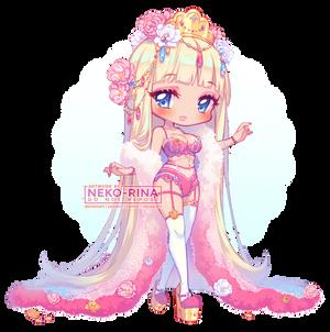 Adoptable: Sexy Flower Princess