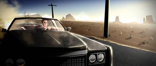 Mels Cafe : Desert+Car