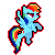 Rainbow dash by ThePhantomDragon