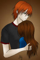 Edward and Bella by Lilianne