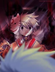 Ushiro wa Dare? by Kaze-Hime