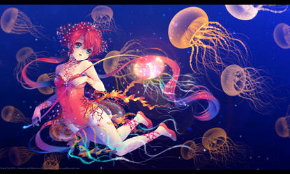 Jellyfish March by Kaze-Hime