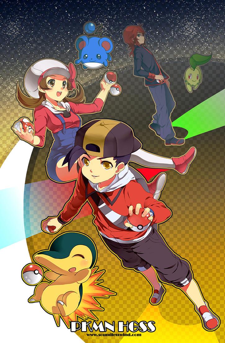 Pokemon HGSS by Kaze-Hime