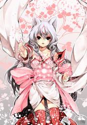 Okami: Flower Storm by Kaze-Hime
