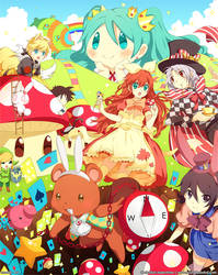 Momiji in Wonderland by Kaze-Hime