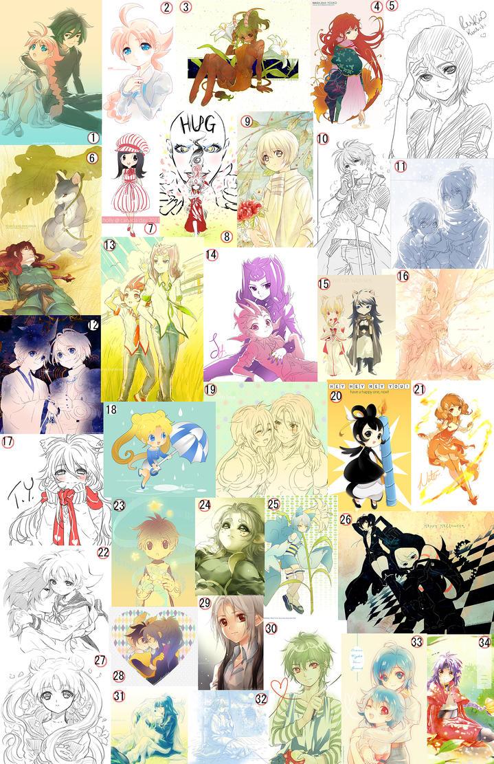 2011 doodles by Kaze-Hime