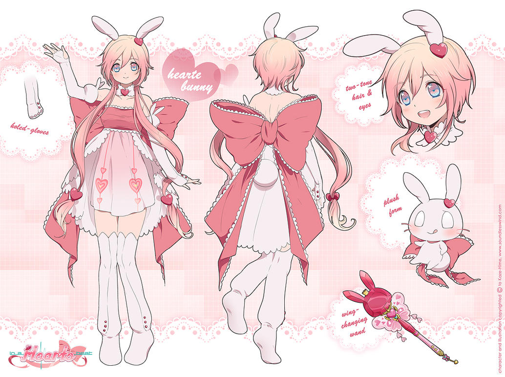 Hearte Bunny Reference Sheet By Kaze-Hime On DeviantArt