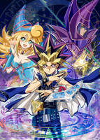 Yu-Gi-Oh 20th Anniversary by Kaze-Hime