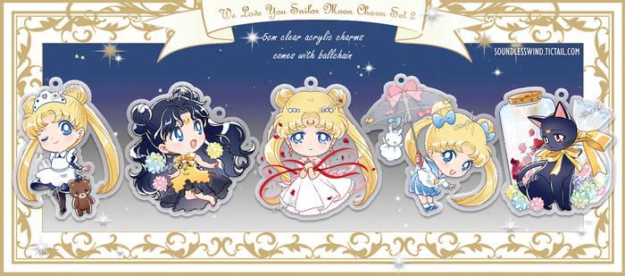 Sailor Moon Charm Set 2