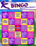 Nights Quarantine Bingo