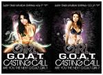 .Advert Flyers G.O.A.T. Girl