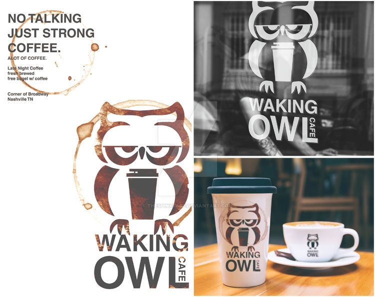 Waking Owl by TheSpinxSage