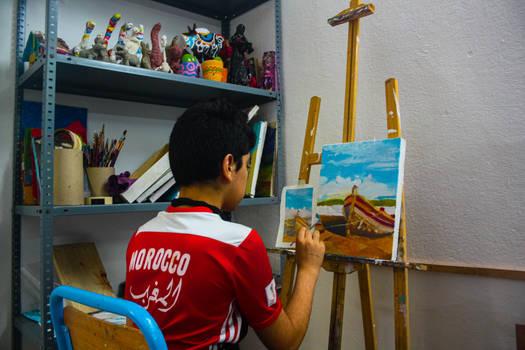 Workshops for adults- Painting Workshop.