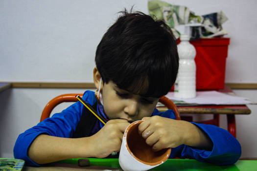 Ziad busy and cannot be bothered -kids' Workshops