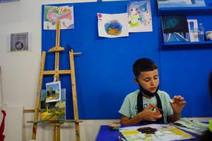 Kids Collage workshop.