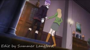 Fake Diabolik Lovers Screenshot: Bara x Kanato