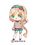 Pixel pagedoll: Azu by shirotsui