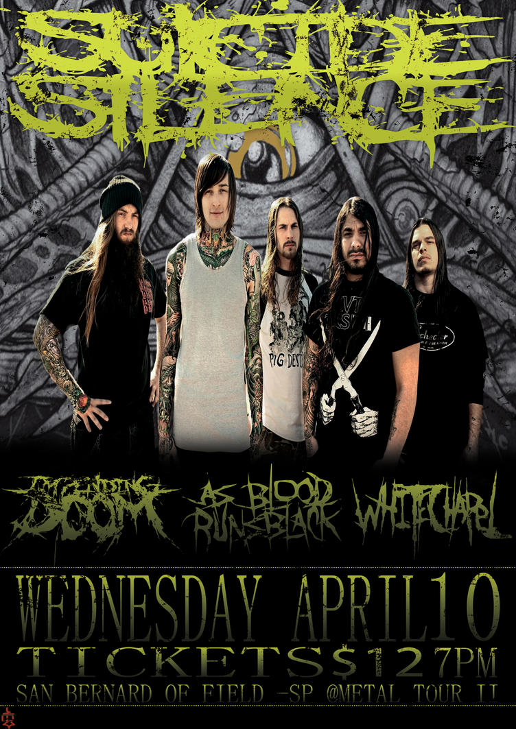 Suicide Silence dream tour by xG0KUx on DeviantArt