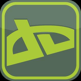 D.A - Social Networking Icon by crazyredargyle