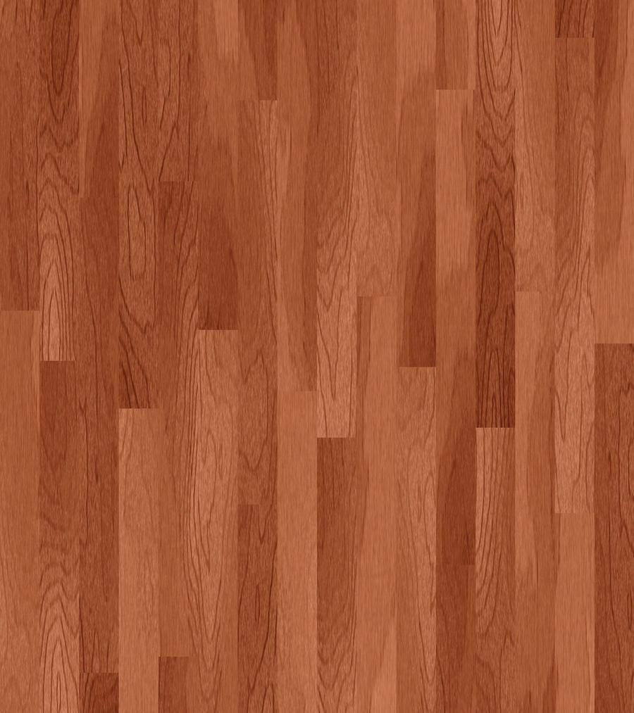Dark Wood Floors Brighten Up Kitchen