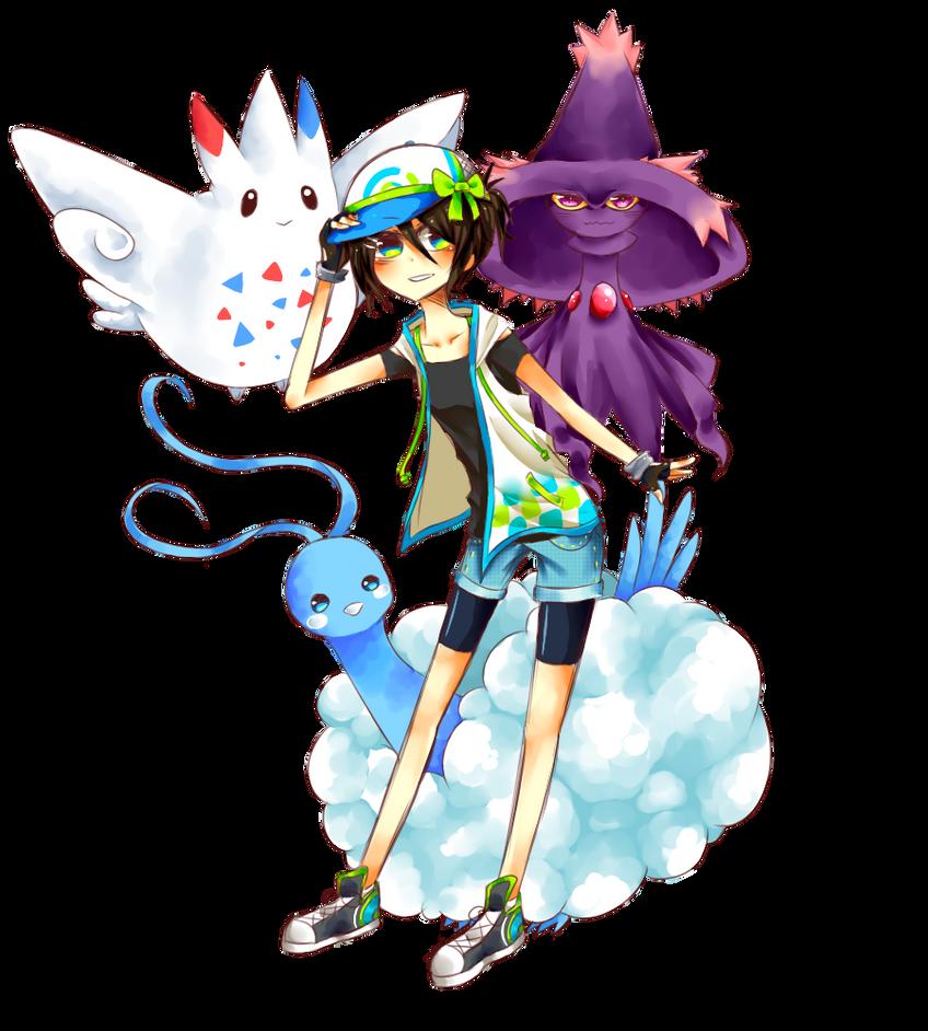 Pokemon Trainer Mayumi by Ryu-chan14