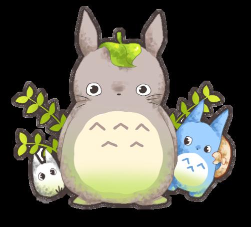 Tonari no Totoro by Ryu-Umi