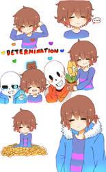 Determination Doodle Dump