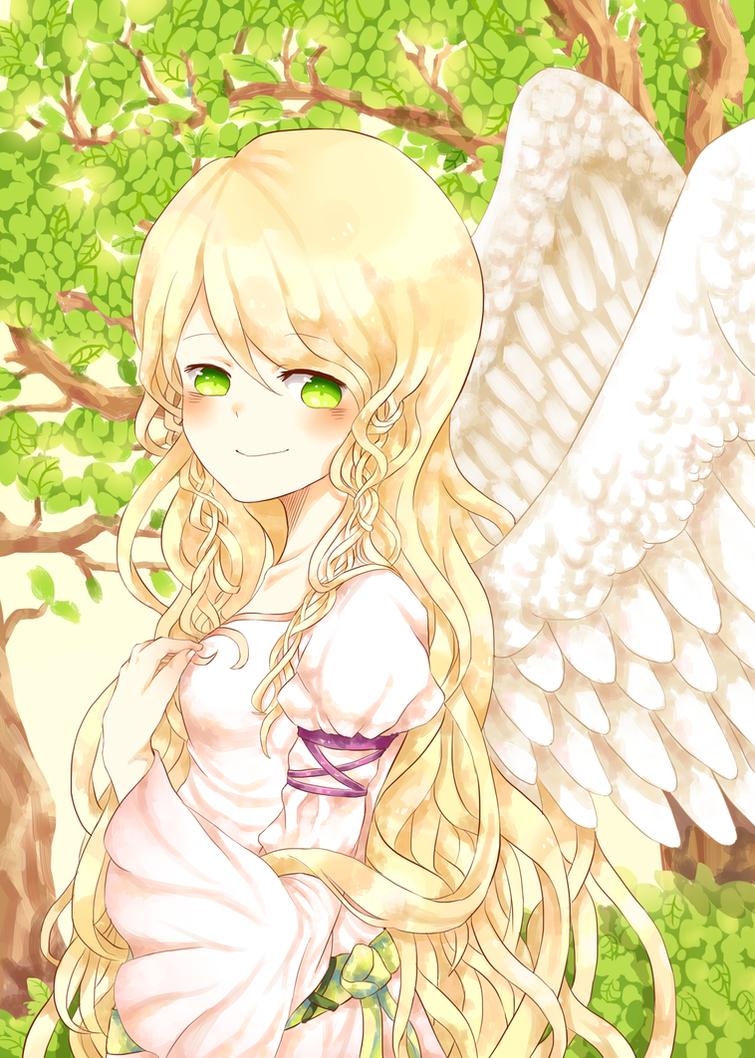 Heron Princess by Ryu-Umi