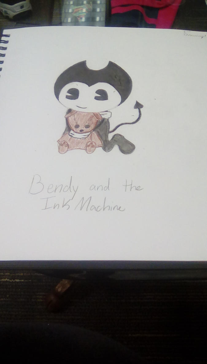 Cute Bendy Boi By Evolvedhaley On Deviantart