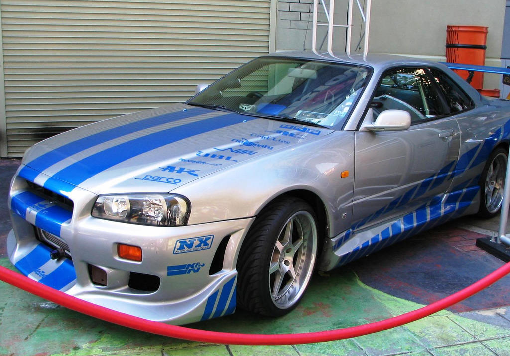 2 Fast 2 Furious Nissan Skyline GT-R By ThexRealxBanks On