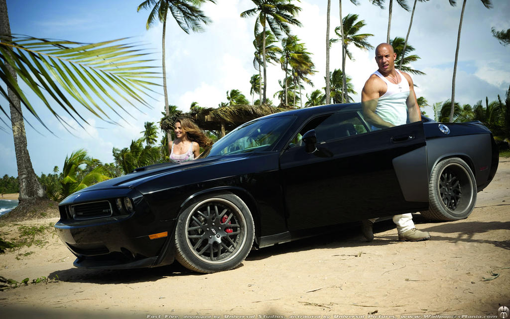 Fast Five Dodge Challenger by ThexRealxBanks on DeviantArt
