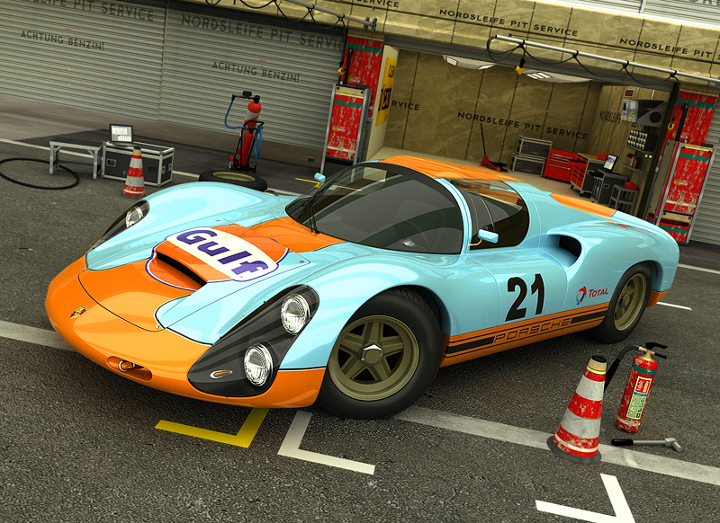 1966-1968 Porsche 910 by ThexRealxBanks on DeviantArt
