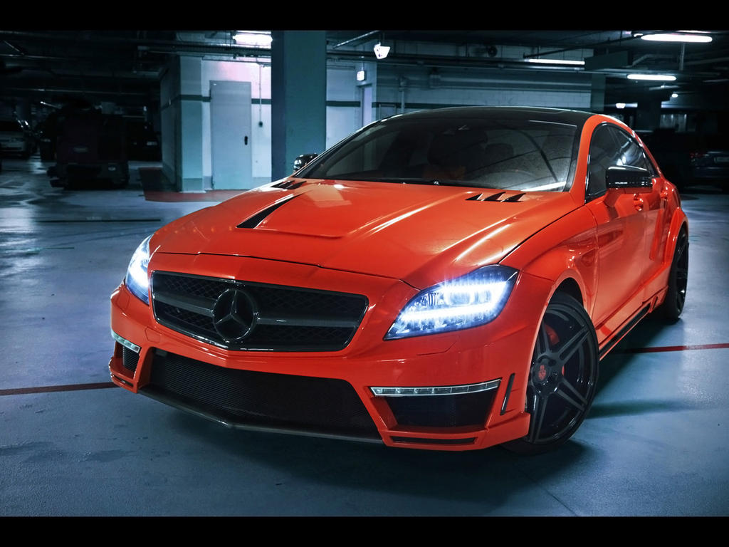 2013 custom mercedes benz cls63 amg stealth by for Mercedes benz custom