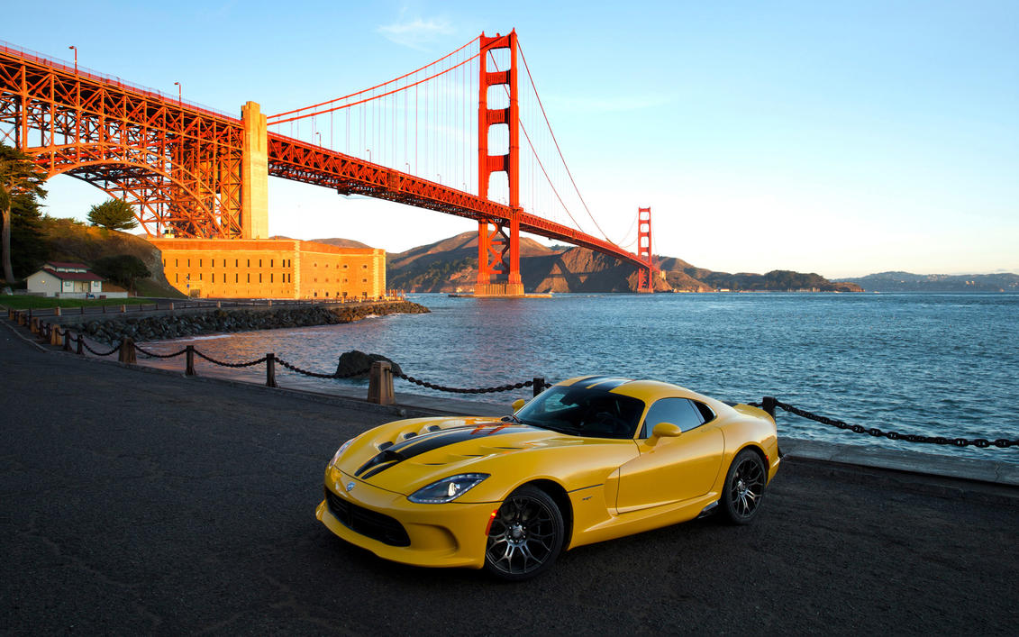 2013 SRT Viper Race Yellow by ThexRealxBanks