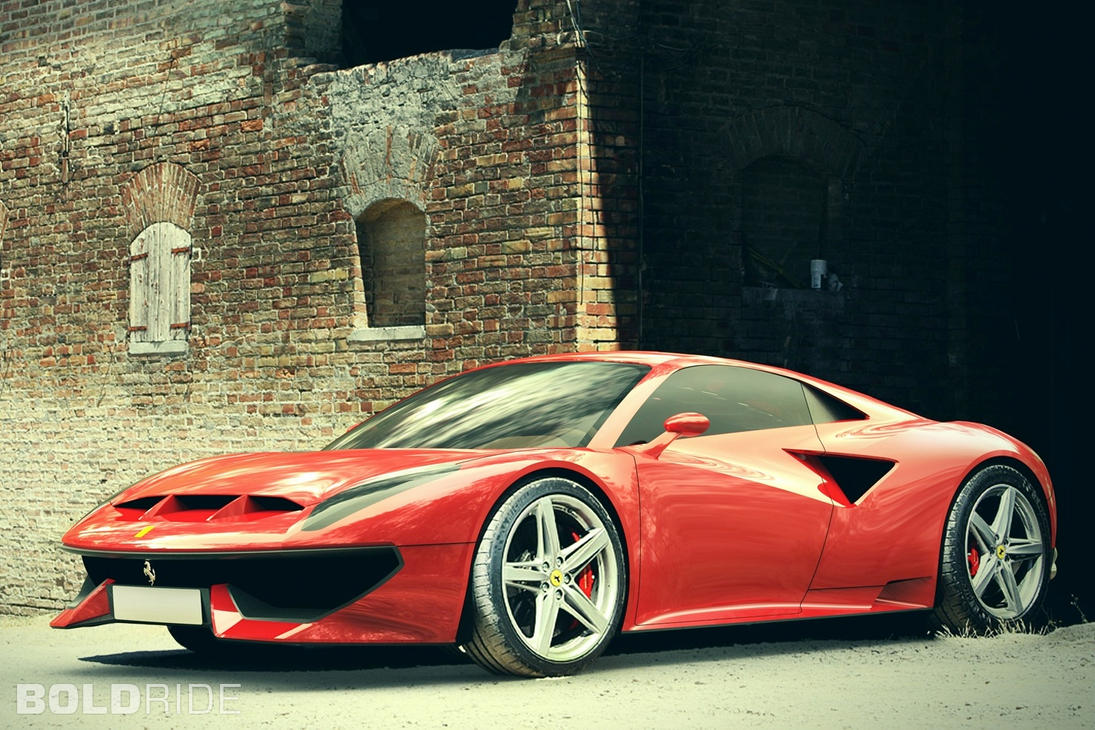 2013 Ferrari 358 GTB Concept by Agustin Perez by ThexRealxBanks on