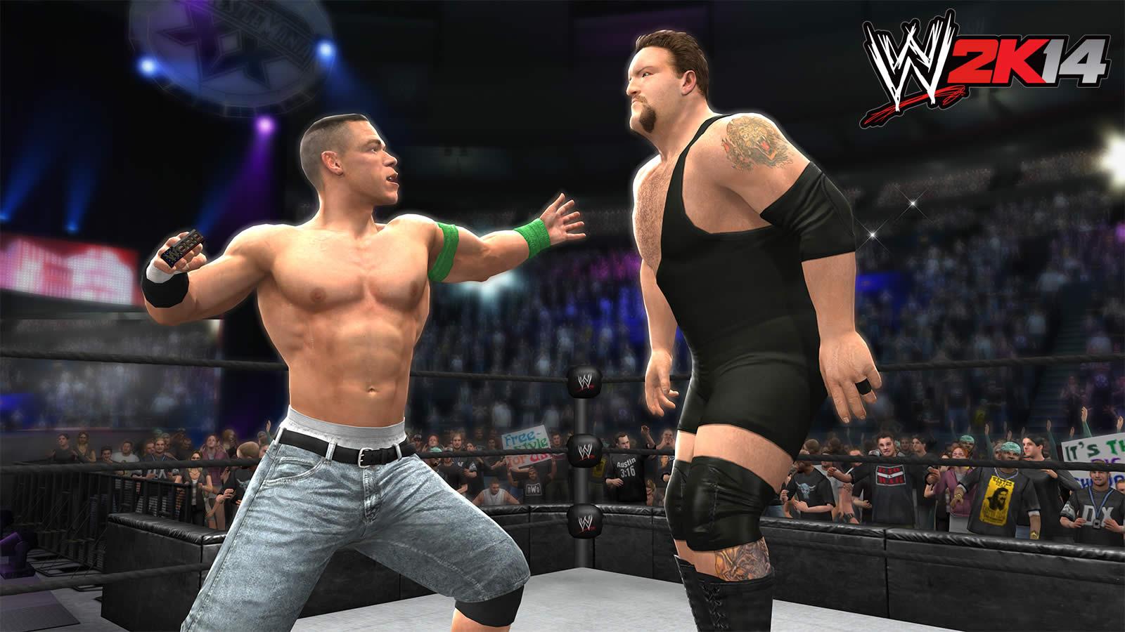 WWE 2K14 Screenshots WM20 Big Show vs John Cena by ThexRealxBanksWwe 2k14 Screenshots Goldberg