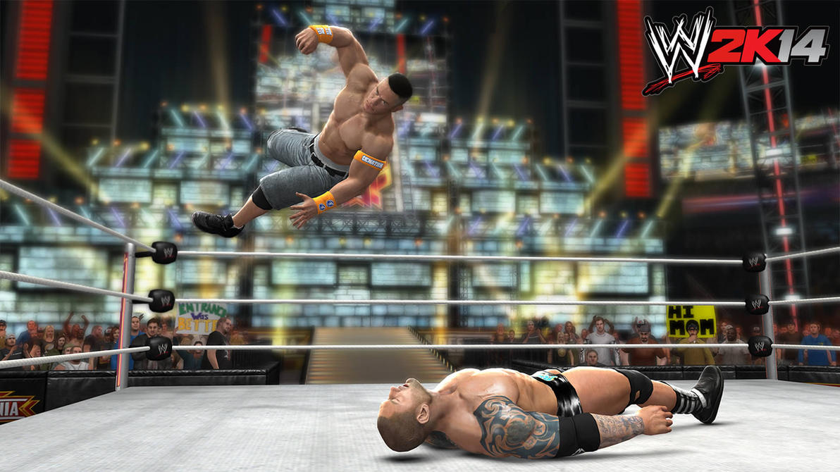 wwe 2k14 screenshots:wm26 batista vs john cenathexrealxbanks on