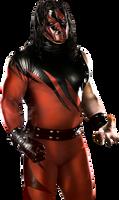 WWE 2K14: Kane Retro Render Cutout by ThexRealxBanks
