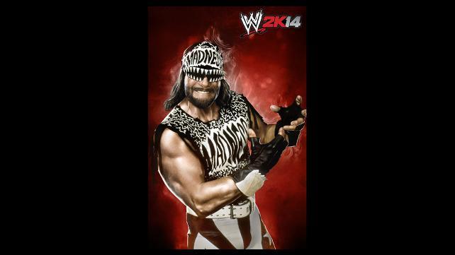 WWE 2K14 DLC NWO Macho Man Randy Savage Render By ThexRealxBanks
