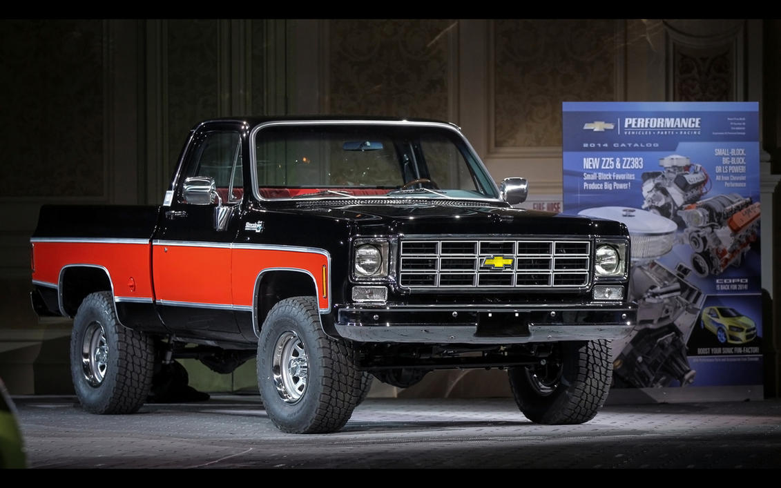 1978 Chevy 4x4 Pickup by ThexRealxBanks on DeviantArt