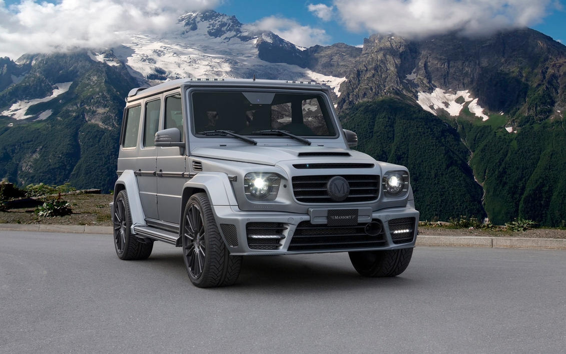 2014 mansory mercedes benz g class amg gronos by for Buy mercedes benz g class
