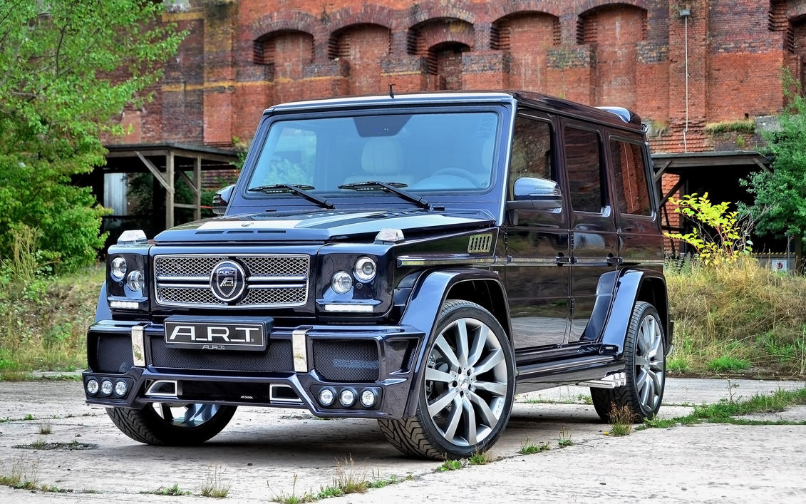 2014 Art Mercedes Benz G55 Amg Streetline 65 By