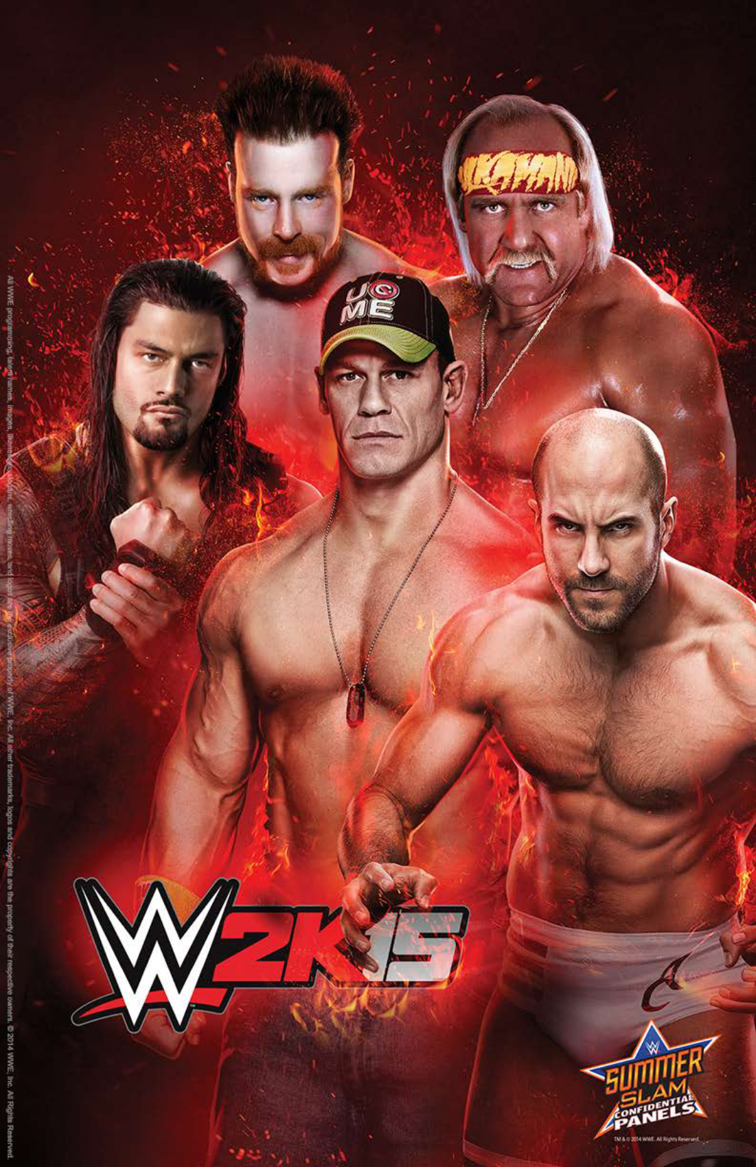 wwe_2k15_summer_slam_poster_by_thexrealx