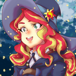 My Little Witch Academia Sunset Shimmer
