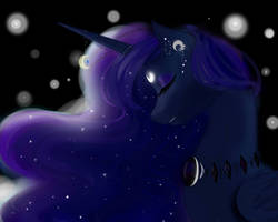 Princess Luna  by Varshacoro