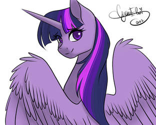 Princess Twilight Sparkle [Open collab] by Varshacoro