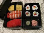 Crochet Sushi Bento