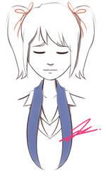 Random Sketch 10: Yuri by RejectedSG