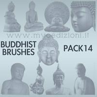 Buddhist Brushes 14 by lotus82